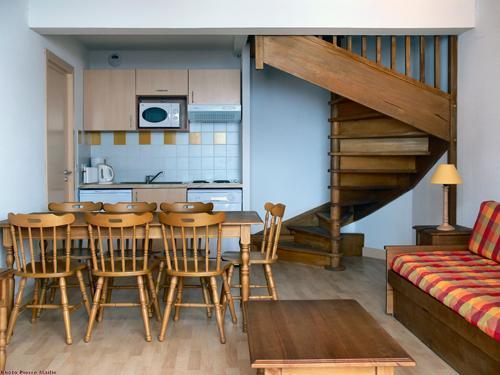 Аренда на лыжном курорте Апартаменты 3 комнат 6 чел. - Résidence le Haut Couserans - Guzet - Салон