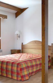Аренда на лыжном курорте Апартаменты 3 комнат 6 чел. - Résidence le Haut Couserans - Guzet - Матрас
