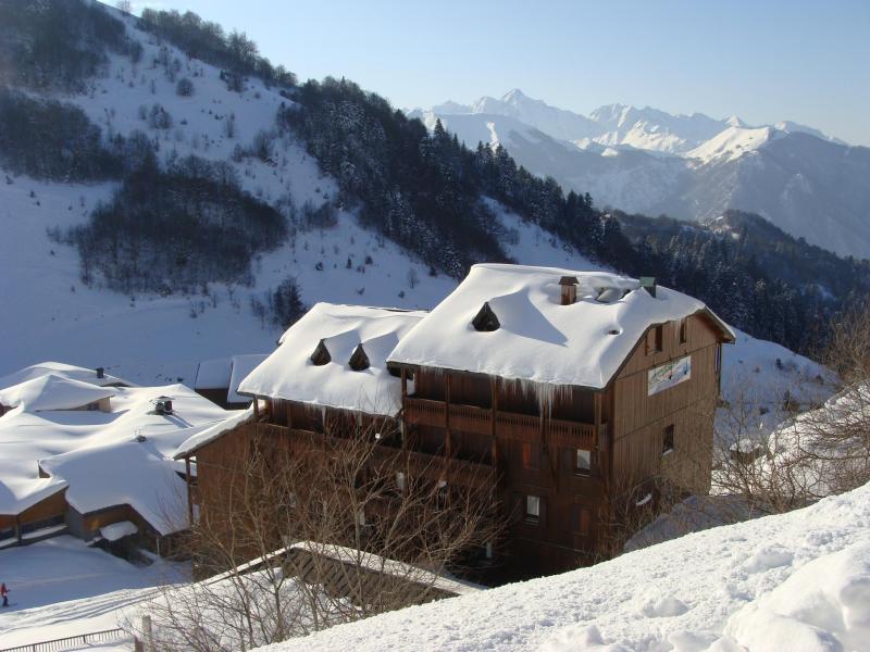 Location au ski Résidence le Haut Couserans - Guzet - Extérieur hiver