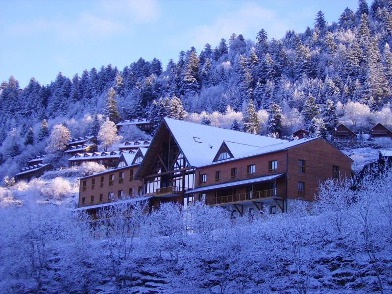 Аренда на лыжном курорте Résidence le Valier - Guzet - зимой под открытым небом