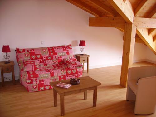 Location au ski Residence Le Valier - Guzet - Banquette-lit