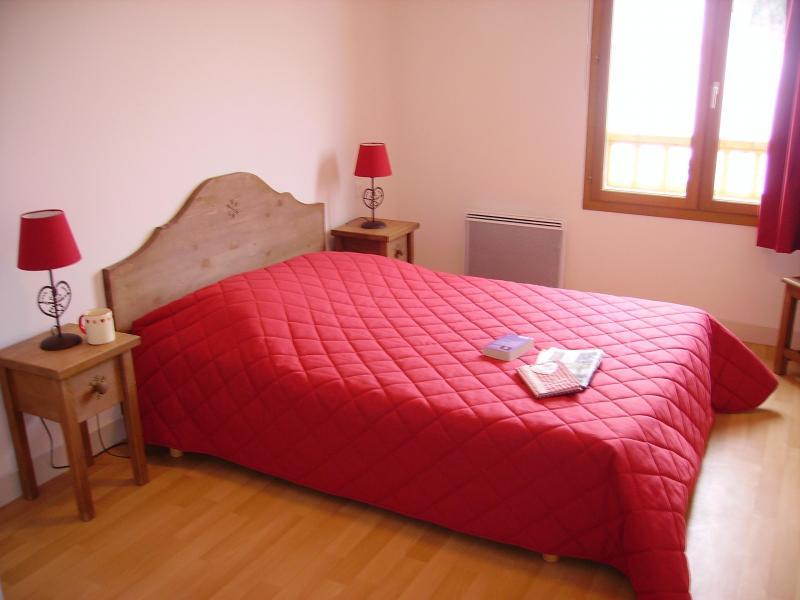 Аренда на лыжном курорте Résidence le Valier - Guzet - Двухспальная кровать