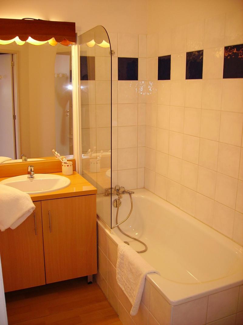 Location au ski Residence Le Valier - Guzet - Salle de bains