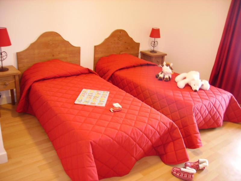 Аренда на лыжном курорте Résidence le Valier - Guzet - Односпальная кровать
