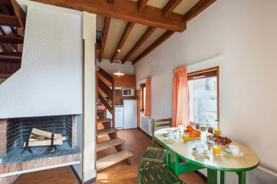 Skiverleih Résidence le Village la Souleille des Lannes - Guzet - Esszimmer