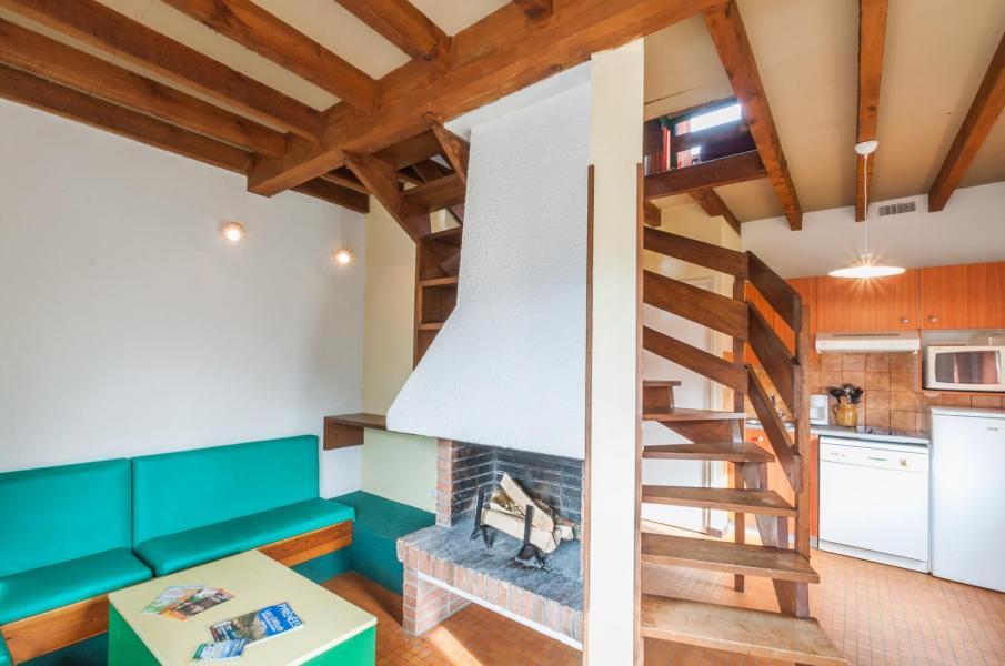 Location au ski Résidence le Village la Souleille des Lannes - Guzet - Séjour