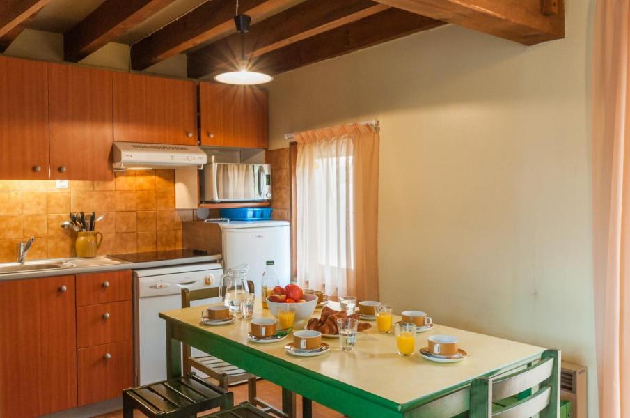 Location au ski Résidence le Village la Souleille des Lannes - Guzet - Table