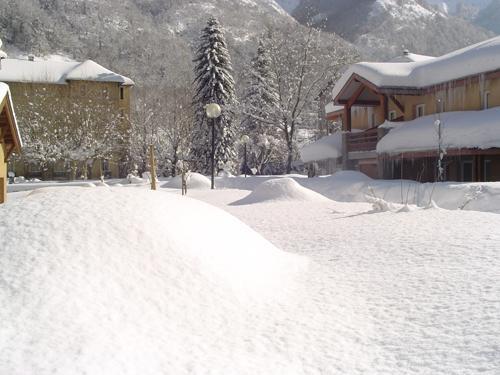 Location au ski Residence Les 3 Cesars - Guzet - Extérieur hiver