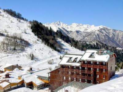 Location au ski Residence Le Haut Couserans - Guzet - Extérieur hiver