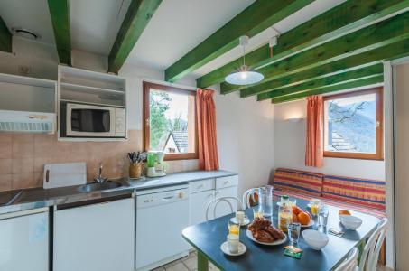 Skiverleih Résidence le Village la Souleille des Lannes - Guzet - Küche