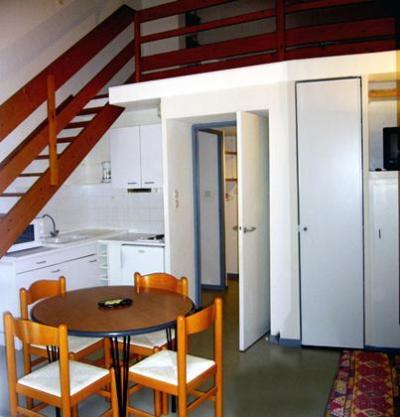 Location au ski Appartement mezzanine 4 personnes - Residence Les 3 Cesars - Guzet - Mezzanine