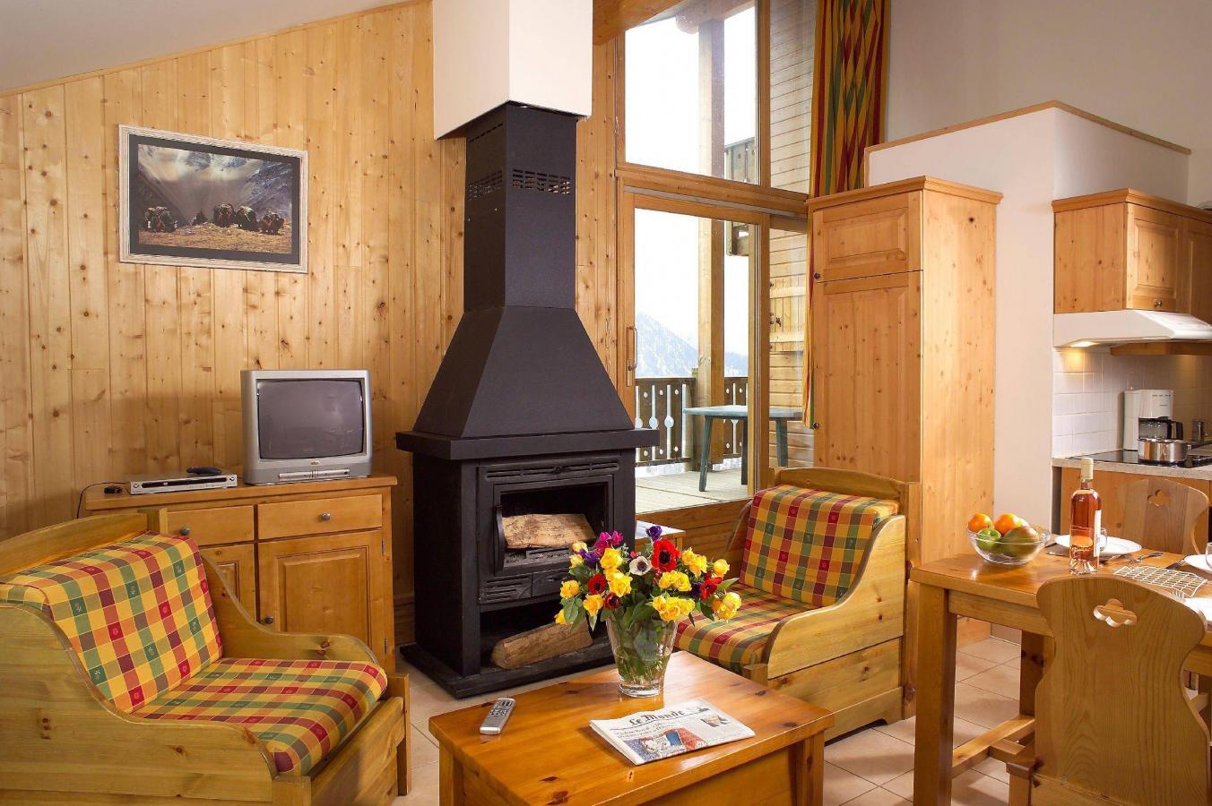 Location au ski Les Chalets D'isola - Isola 2000 - Séjour