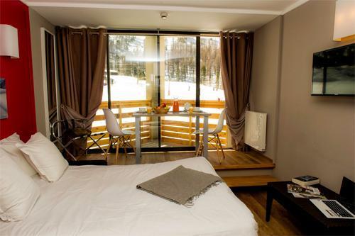 Location au ski Residence Le New Chastillon - Isola 2000 - Chambre