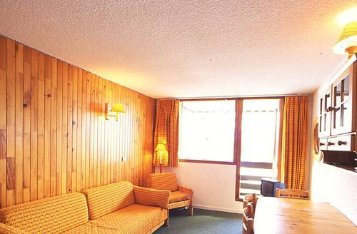 Location au ski Appartement duplex 2 pièces mezzanine 6 personnes - Residence Les Adrets - Isola 2000 - Séjour