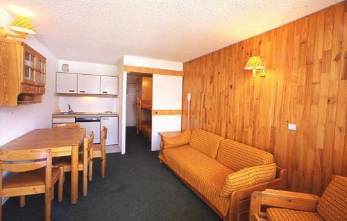 Location au ski Residence Les Adrets - Isola 2000 - Coin séjour