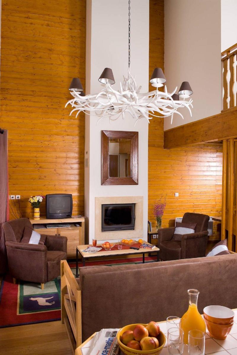 Alquiler al esquí Les Chalets du Diva - Isola 2000 - Estancia