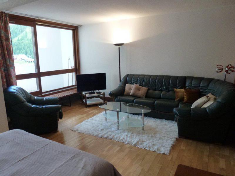 Аренда на лыжном курорте Апартаменты 2 комнат 6 чел. (G9) - Résidence le Pélevos - Isola 2000 - Салон
