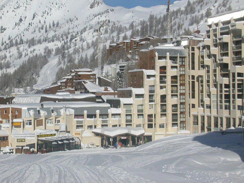 Аренда на лыжном курорте Апартаменты 2 комнат 6 чел. (G9) - Résidence le Pélevos - Isola 2000 - зимой под открытым небом