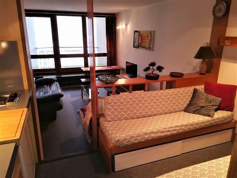 Аренда на лыжном курорте Квартира студия для 4 чел. (H11C) - Résidence le Vermeil - Isola 2000