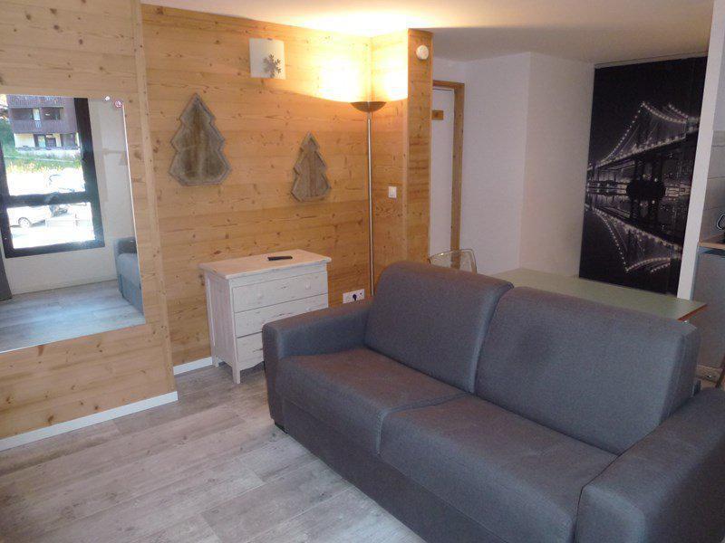 Аренда на лыжном курорте Квартира студия для 2 чел. (635) - Résidence les Châtaigniers - Isola 2000