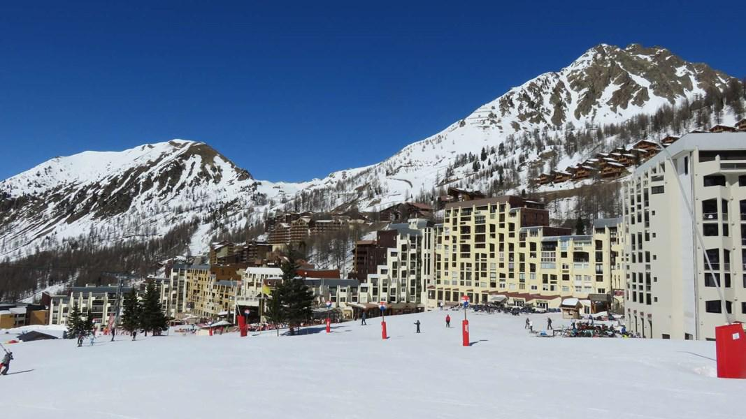 Аренда на лыжном курорте Делящаяся квартира студия для 4 чел. (PC102 HAM) - Résidence les Pincembros - Isola 2000 - зимой под открытым небом