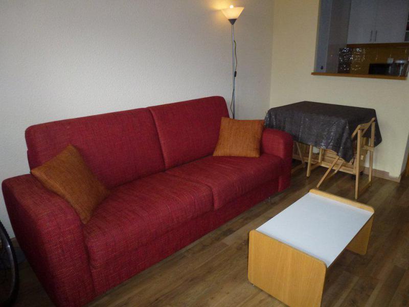Аренда на лыжном курорте Делящаяся квартира студия для 4 чел. (PC102 HAM) - Résidence les Pincembros - Isola 2000 - Салон