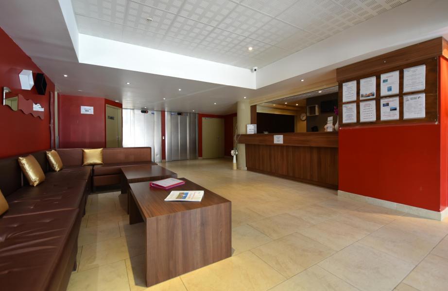 Location au ski Résidence MMV les Terrasses d'Isola - Isola 2000 - Réception