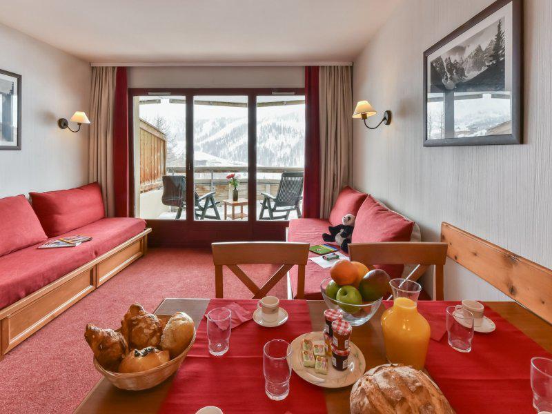 Location au ski Appartement 2 pièces 4 personnes - Résidence Pierre & Vacances les Terrasses d'Azur - Isola 2000