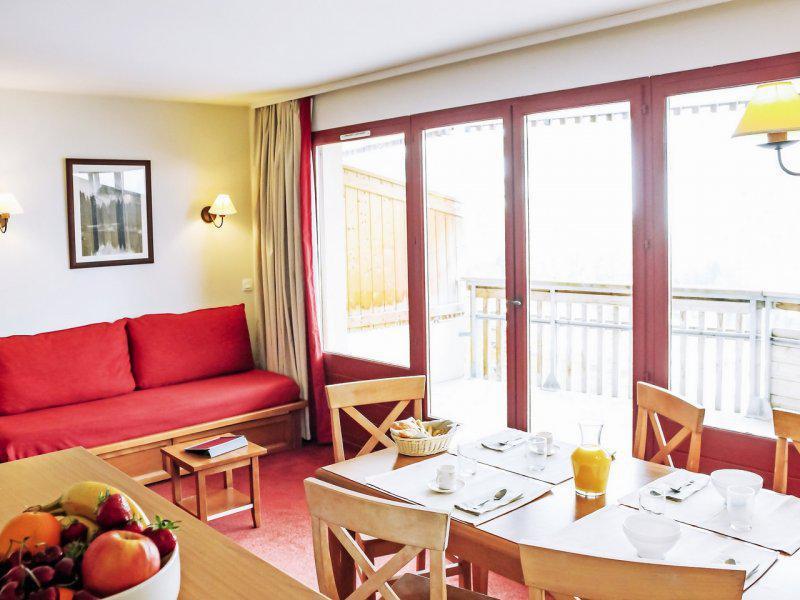 Location au ski Appartement 2 pièces 4-6 personnes - Résidence Pierre & Vacances les Terrasses d'Azur - Isola 2000