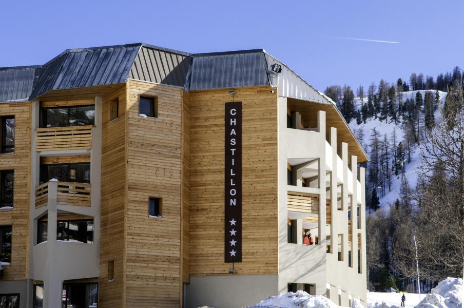 Аренда на лыжном курорте Sowell Résidences New Chastillon - Isola 2000 - зимой под открытым небом