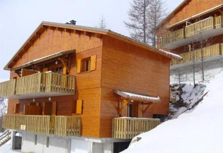 Location au ski Les Chalets Du Diva - Isola 2000 - Extérieur hiver
