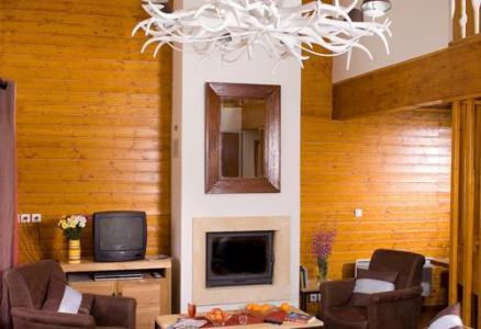 Location au ski Les Chalets Du Diva - Isola 2000 - Séjour