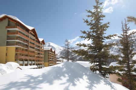 Location au ski Residence Club Mmv Les Terrasses D'isola - Isola 2000 - Extérieur hiver