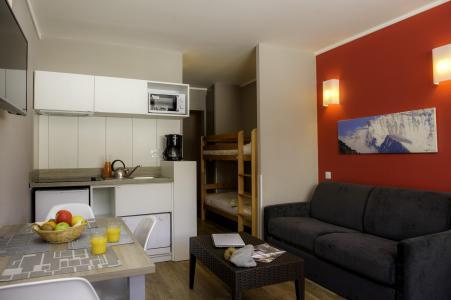 Location au ski Residence Le New Chastillon - Isola 2000 - Cuisine ouverte