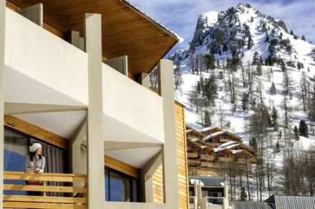 Location au ski Residence Le New Chastillon - Isola 2000 - Extérieur hiver