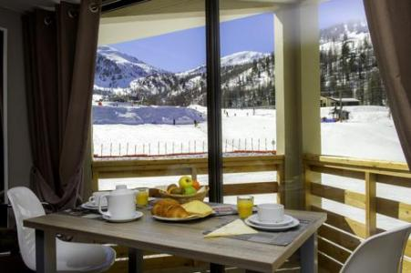 Location au ski Residence Le New Chastillon - Isola 2000 - Coin repas