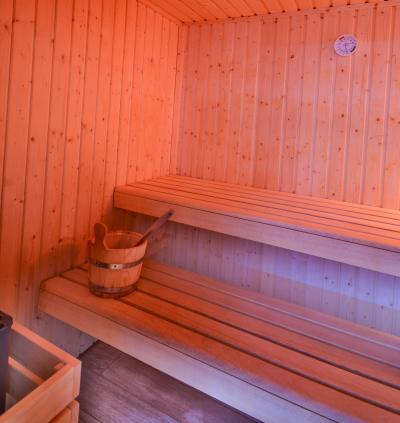 Location au ski Résidence le New Chastillon - Isola 2000 - Sauna