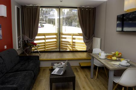Location au ski Residence Le New Chastillon - Isola 2000 - Séjour