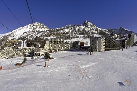 Location au ski Résidence les Adrets - Isola 2000 - Extérieur hiver