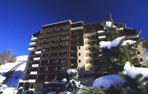 Location au ski Residence Les Adrets - Isola 2000 - Extérieur hiver