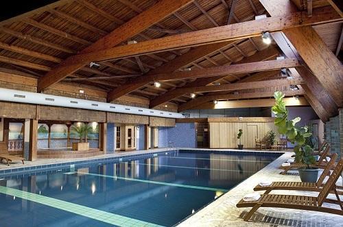 Location au ski Hotel Les Vallees - La Bresse - Piscine