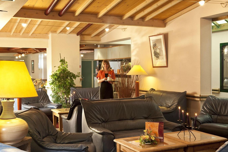 Location au ski Hotel Les Vallees - La Bresse - Réception