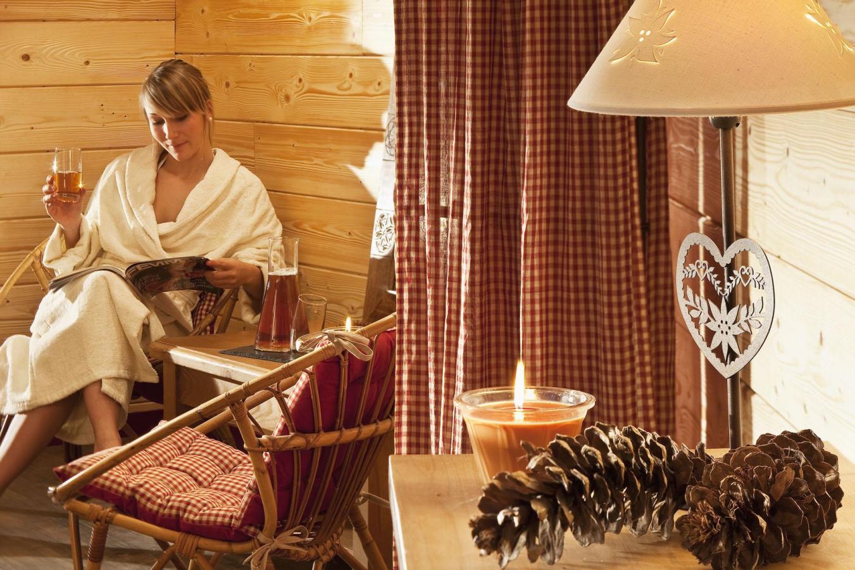 Location au ski Hotel Les Vallees - La Bresse - Relaxation