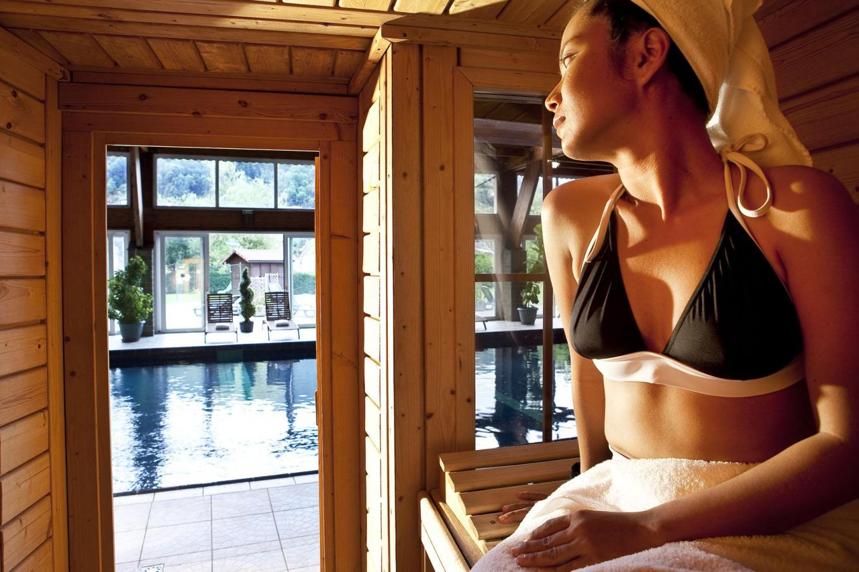 Location au ski Hotel Les Vallees - La Bresse - Sauna