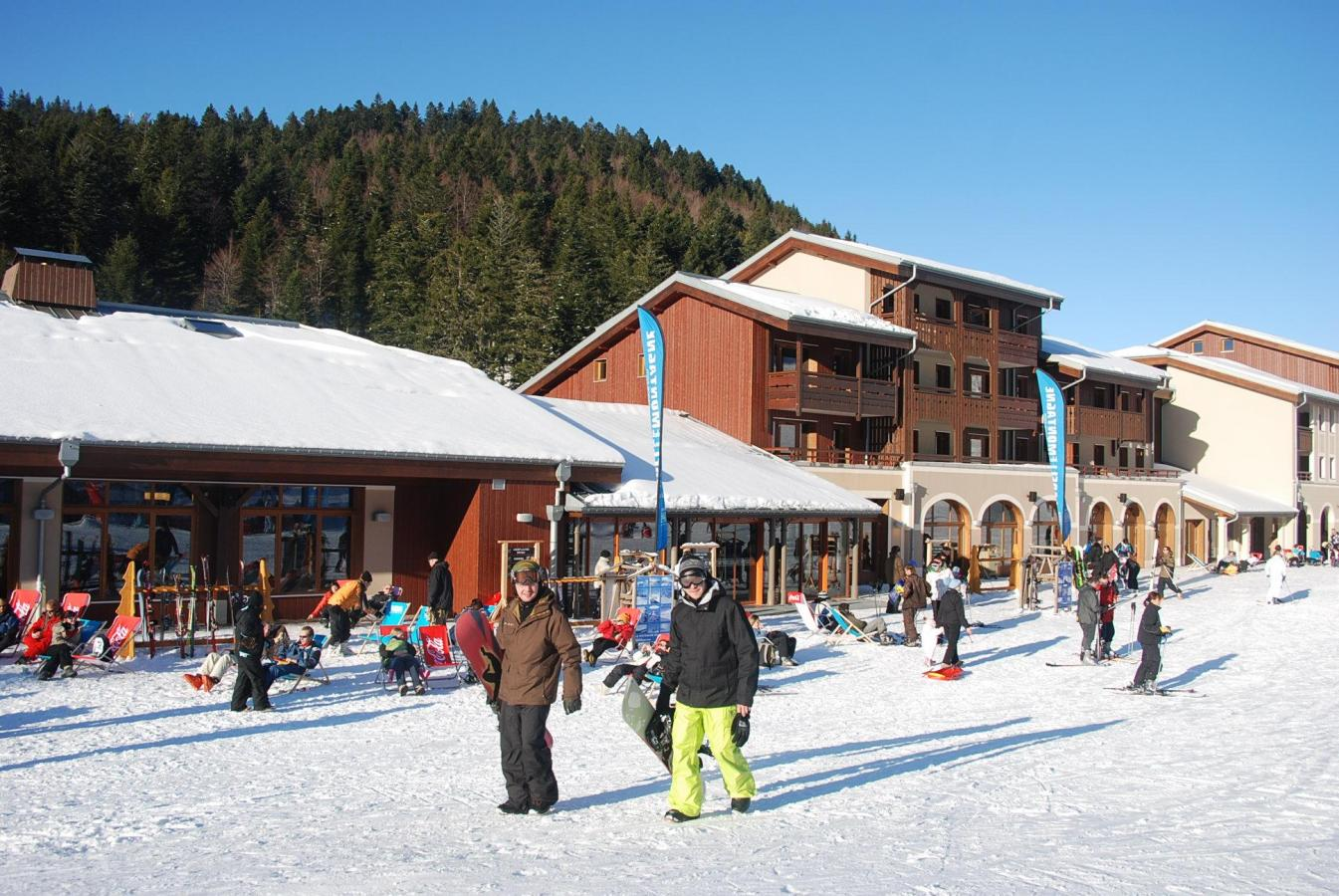 Alquiler Residence Les Grandes Feignes invierno