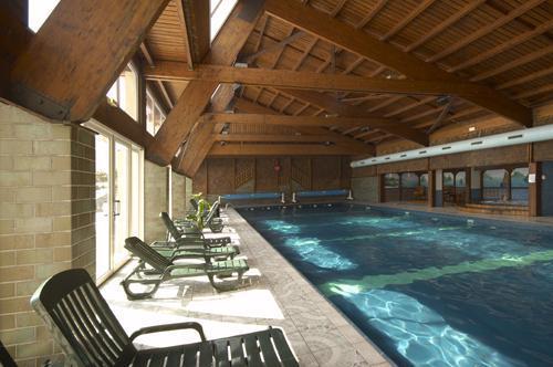 Location au ski Residence Les Vallees - La Bresse - Piscine