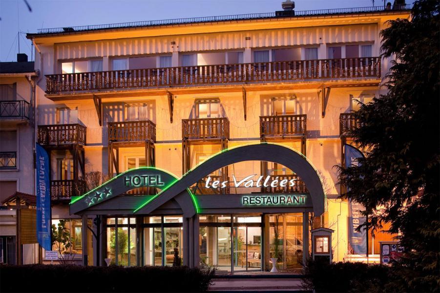 Location au ski Hôtel les Vallées - La Bresse - Extérieur hiver