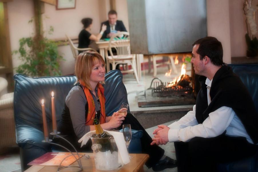 Rent in ski resort Hôtel les Vallées - La Bresse - Reception