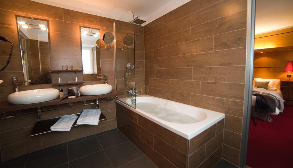 Location au ski Hôtel les Vallées - La Bresse - Salle de bains