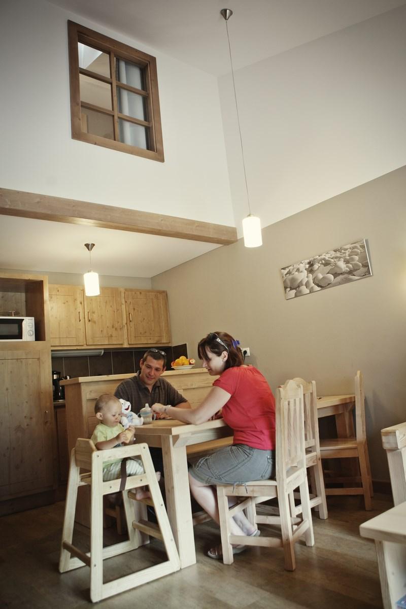 Rent in ski resort Résidence les Grandes Feignes - La Bresse - Dining area